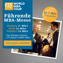 World Mba Tour Johannesburg by Event Qs World Mba Tour Mba Messe Frankfurt Jetzt Bewerben