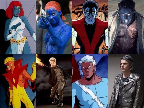 marvel film karakterleri x men karakterleri 199 izgi film vs film frpnet