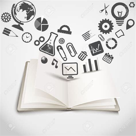 Knowledge Book knowledge clipart graphic pencil and in color knowledge