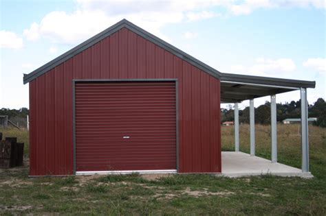 How To Add A Lean To On A Shed by Garage With Lean To And Garaport Fair Dinkum Sheds