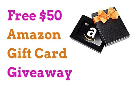 Gc Giveaway - free 50 amazon gift card giveaway moneypantry