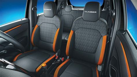 renault kwid interior seat renault kwid climber edition launched in india at inr 4 30