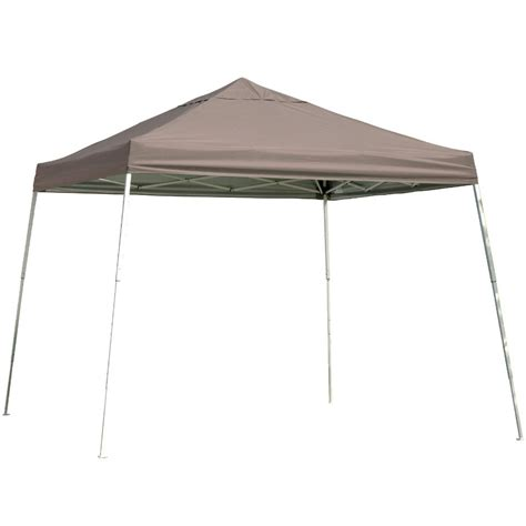 12 X 12 Canopy by Shelterlogic 12 X 12 Portable Canopy Slanted Leg In Canopies