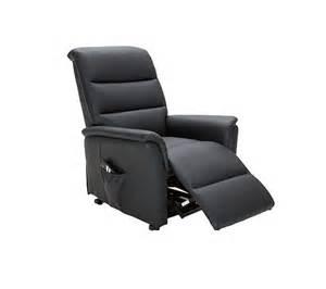 fauteuil releveur 2 moteurs kennedy pu noir fauteuils but