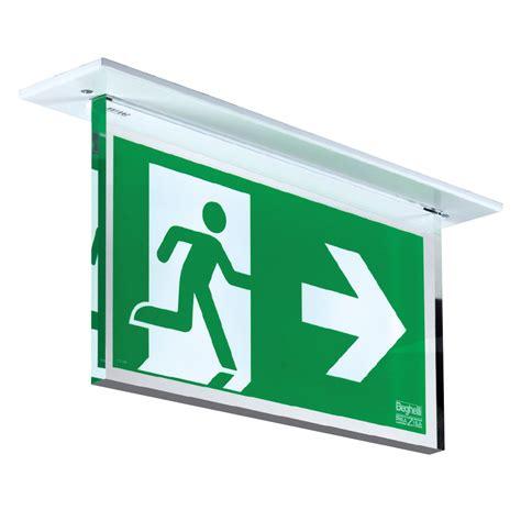 illuminazione di sicurezza segnaletica di sicurezza plexilite led