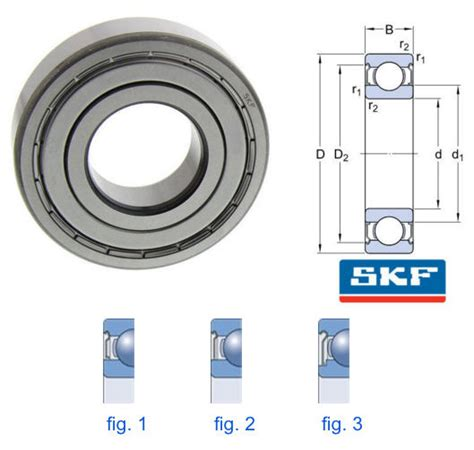 Bearing 6202c3 Skf 6202 2z c3 skf metric metal shielded groove
