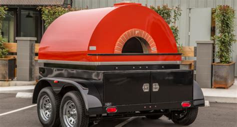 mobile pizza ovens mobile pizza ovens mugnaini wood and gas fired pizza ovens