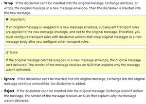 Office 365 Portal Disclaimer Add A Disclaimer To All Outgoing Email Office 365