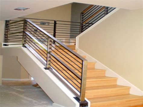 stair hand railing diy cable stair railing interior
