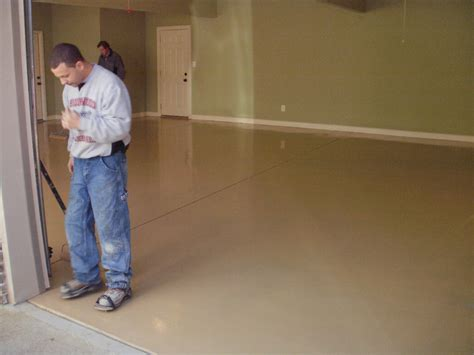 painting rust workshop garage floor epoxy coating paint lotustalk the lotus