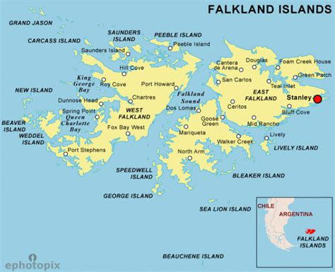 falkland islands on map jacqueline deely photography