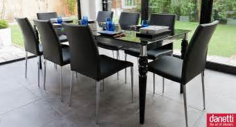 Black Glass Dining Table Hull Engaging Dining Room Decoration Using Expandable Dining
