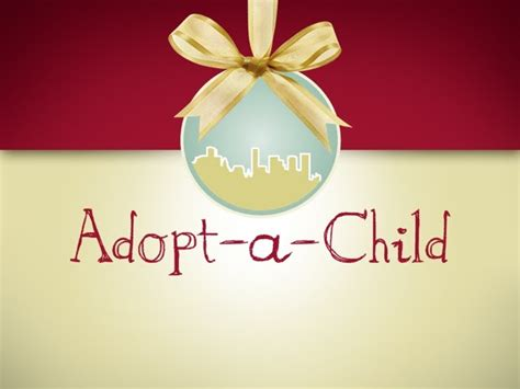 sponsor a child for christmas gift 52nd annual adopt a child detroit professionals