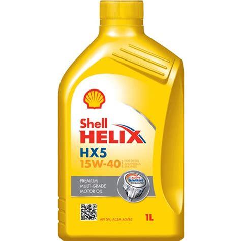 Shell Helix Hx5 shell helix hx5 15w40 1l