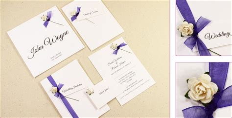 Handcrafted Invitations - simple handmade wedding invitations ideas wedding