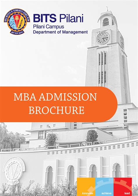Institute Of Technology Mba Cost by Bits Pilani Admissions Cut Fee Structure
