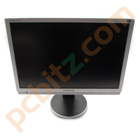 Monitor Samsung 21 Inch samsung syncmaster 215tw 21 inch monitor grade c ebay