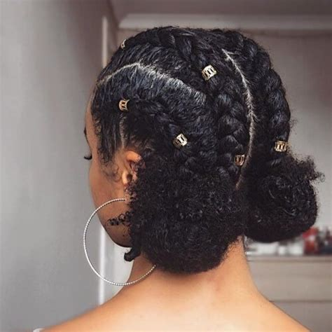 protective hairstyles buns 50 protective hairstyles for natural hair hair motive