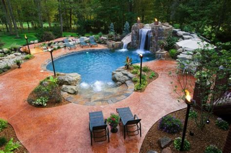 Pool Decorating Ideas by 22 Amazing Pool Design Ideas Style Motivation