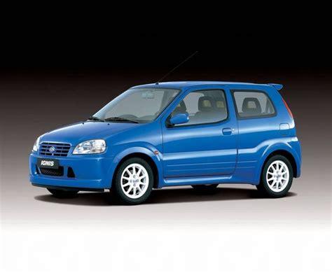 Suzuki Ignis Sport Review Review Suzuki Ht Ignis 2000 05
