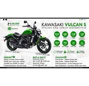 Kawasaki Vulcan S  Stylish &amp Urban Motorcycle