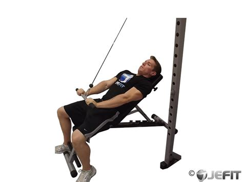 incline bench back exercises cable incline pullover exercise database jefit best