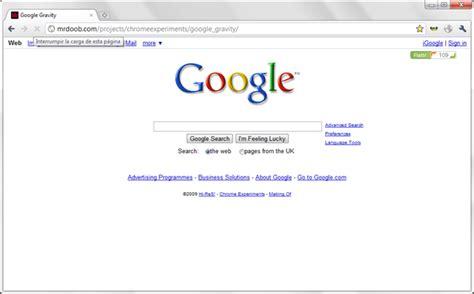 google imagenes web google gravity blog de alexis abarca