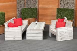 Lounge Garden Furniture Sets Rustic Garden Lounge Set Furniture Set