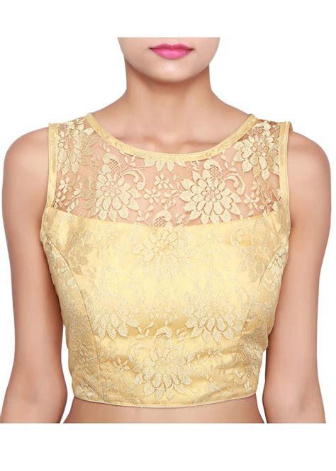 Lulu Set Blouse gold blouse adorn lace only on kalki lace gold blouse