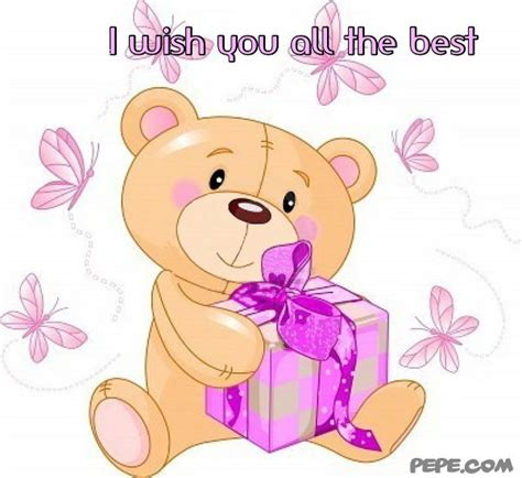 wish u the best i wish you all the best greeting card on pepe