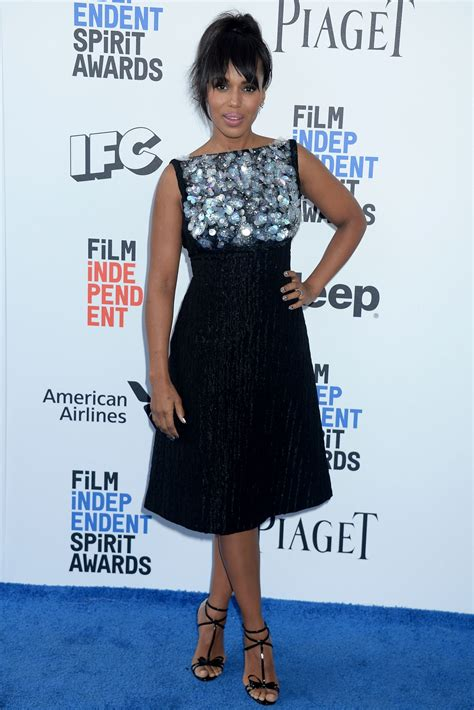 Independent Spirit Awards by Kerry Washington At 2017 Independent Spirit Awards In