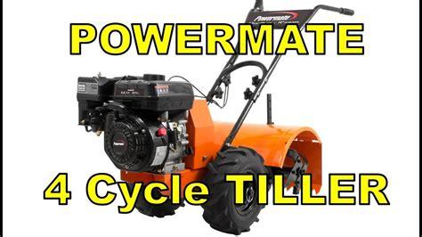 assembly review coldstart powermate  rear tine tiller
