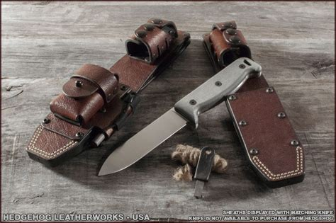 blackbird sk 5 sheath guys in the woods knife rig hosted by creek stewart