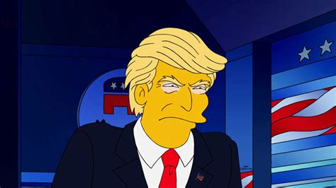 donald trump simpsons the simpsons predicted donald trump presidency ew com