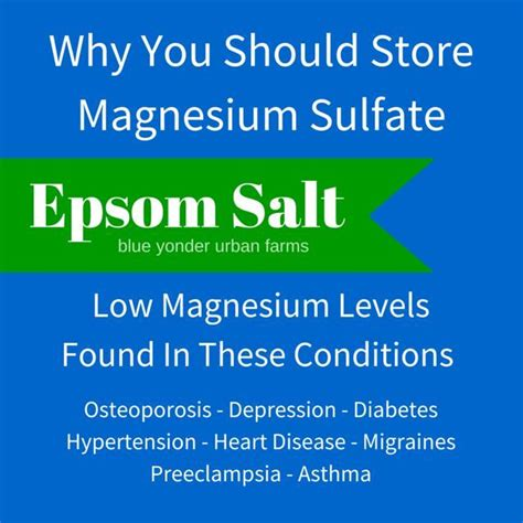 Magnesium Start Detox by 25 Best Ideas About Magnesium Sulfate On