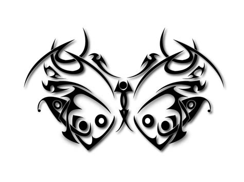 black tribal butterfly tattoos 45 tribal butterfly designs
