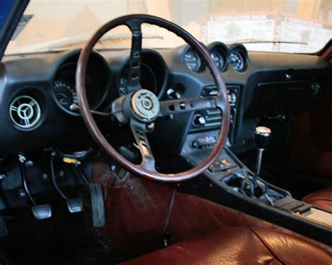 nissan 260z interior datsun 240z restoration opening the spannerhead