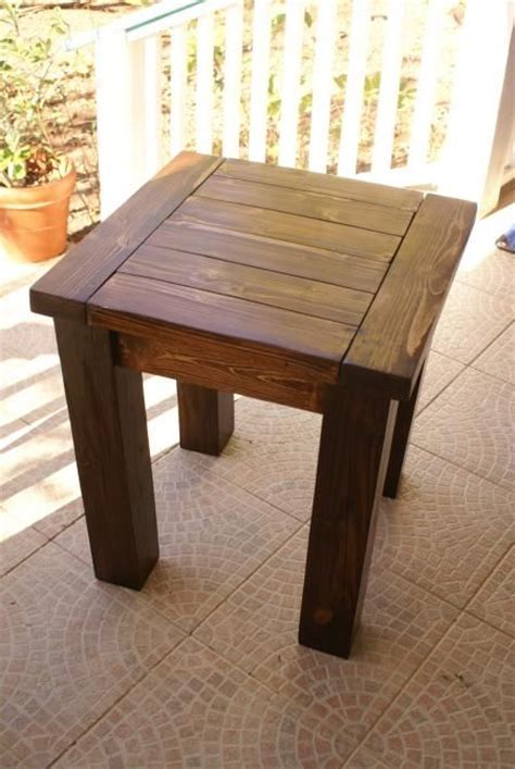 free end table woodworking plans free rustic end table plans woodworking projects plans