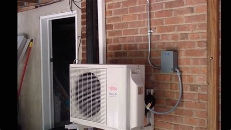 Ac Outdoor Unit fujitsu ductless ac outdoor indoor unit