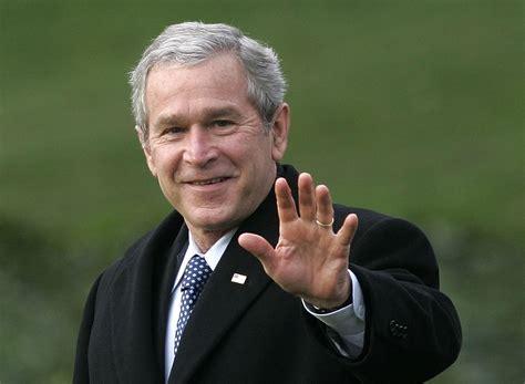 george bush former president george w bush talks about media s importance to democracy