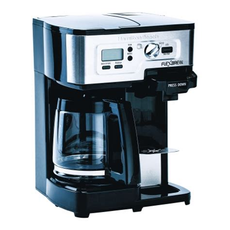 Coffee Maker Di Ace Hardware hamilton flex brew 12 coffee maker black 49983