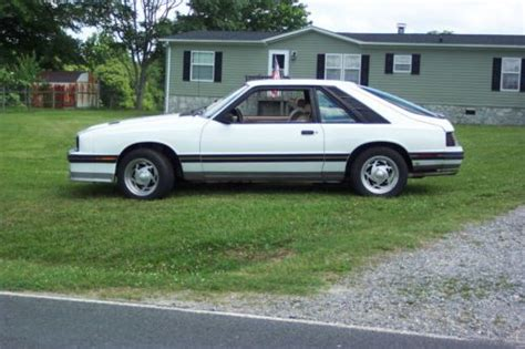 how things work cars 1984 mercury capri auto manual sell used 1984 mercury capri rs 5 0 5 speed 4 bbl carb hatchback 3door white in newton north
