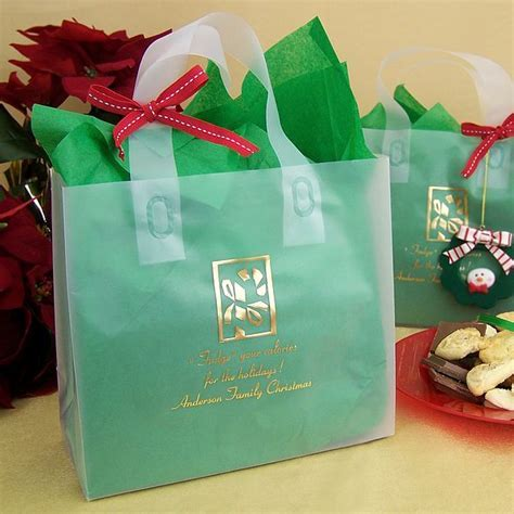 Personalized Christmas Party Gift & Goody Bags