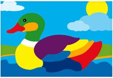Puzzle Kayu Bebek Duck puzzle gambar bebek mainan kayu