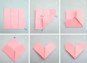 como hacer un corazon de papel facil san valentin coraz 243 n papiroflexia manualidades para ni 241 os