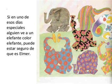 libro elmer historias para dormir ya estoy en primero poemas para el dia del libro y elmer el elefante de color