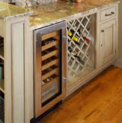 Kitchen Cabinets With Wine Rack Kitchen Cabinet Accessories Traditional Wine Racks