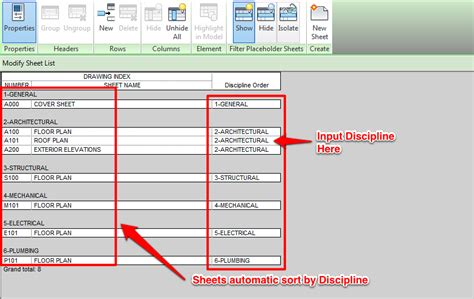 What Are The Best Type Of Sheets using parameter to control sheet list order learning revit