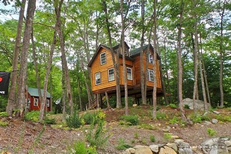 White Mountain National Forest Cabins by Tree House Near White Mountain National Forest Maine