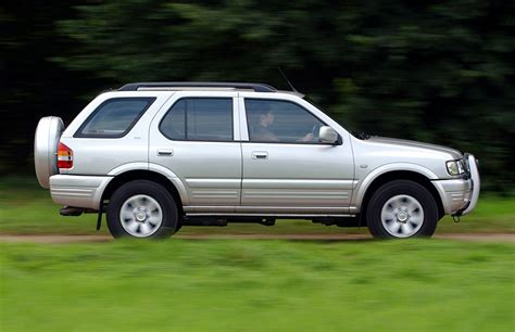 vauxhall frontera estate review 1991 2003 parkers